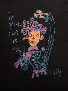 Le music c'est la vie ¡¡o la la!!